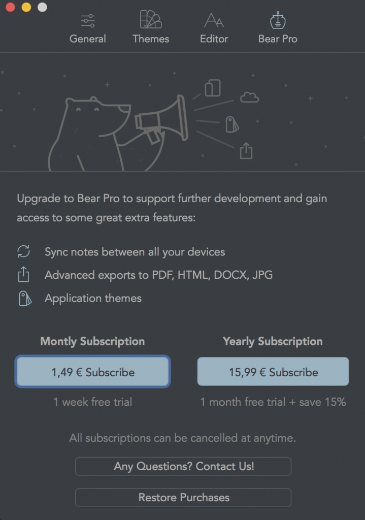 bear_pricing